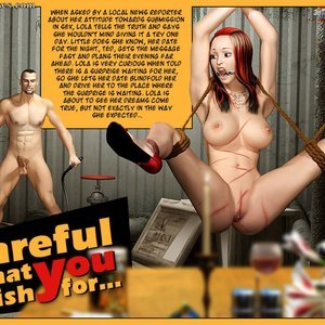 Careful What You Wish For (3D BDSM Dungeon Comics) thumbnail