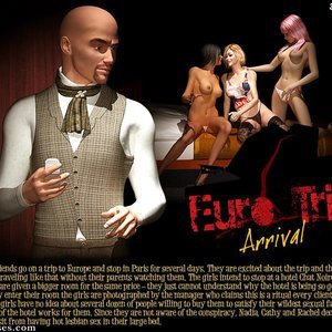 3D BDSM Dungeon Comics Eurotrip - Issue 1 - Arrival gallery image-001
