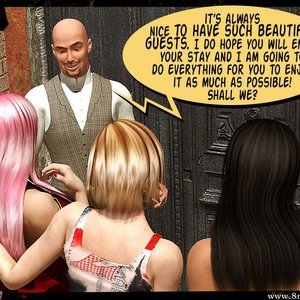 3D BDSM Dungeon Comics Eurotrip - Issue 1 - Arrival gallery image-005
