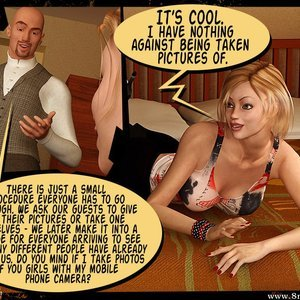 3D BDSM Dungeon Comics Eurotrip - Issue 1 - Arrival gallery image-008