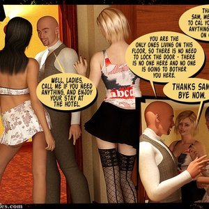 3D BDSM Dungeon Comics Eurotrip - Issue 1 - Arrival gallery image-018