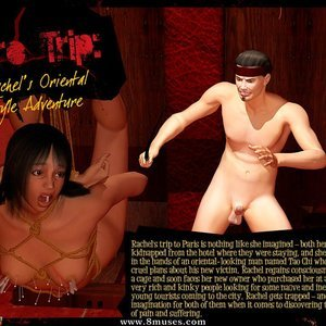 Eurotrip – Issue 4 – Rachels Oriental Style Adventure 3D BDSM Dungeon Comics