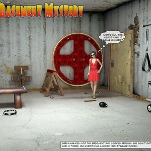 The Basement Mystery 3D BDSM Dungeon Comics
