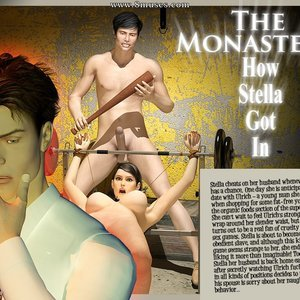 The Monastery – Issue 1 – How Stella Got In 3D BDSM Dungeon Comics