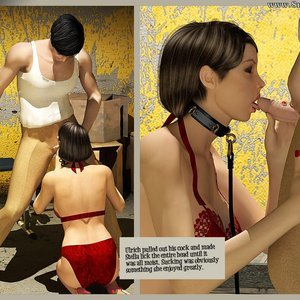 3D BDSM Dungeon Comics The Monastery - Issue 1 - How Stella Got In gallery image-010