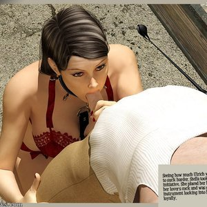 3D BDSM Dungeon Comics The Monastery - Issue 1 - How Stella Got In gallery image-012