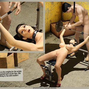 3D BDSM Dungeon Comics The Monastery - Issue 1 - How Stella Got In gallery image-029