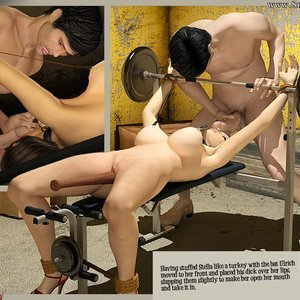 3D BDSM Dungeon Comics The Monastery - Issue 1 - How Stella Got In gallery image-038