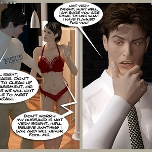 3D BDSM Dungeon Comics The Monastery - Issue 1 - How Stella Got In gallery image-049