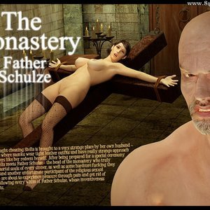 The Monastery – Issue 3 – Father Shulze 3D BDSM Dungeon Comics