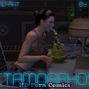 Metamorphosis (3DMonsterStories Comics) thumbnail