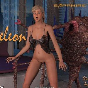 Sapphires Quest – Chameleon 3DMonsterStories Comics