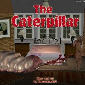 The Caterpillar Nude comics