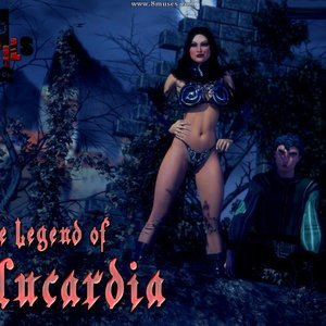The Legend of Alucardia – Issue 1-5 (3DPerils Comics) thumbnail