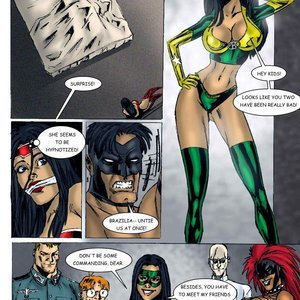 American Icon – Friends and Foes Part 3 9 Superheroines Comics