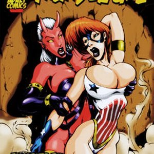 Enslaved by the Devil 9 Superheroines Comics