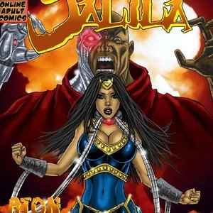 Jalila – Aton Strikes Back – Issue 1 9 Superheroines Comics