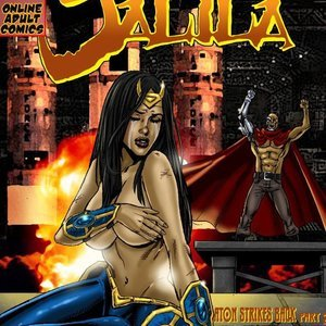 Jalila – Aton Strikes Back – Issue 2 9 Superheroines Comics