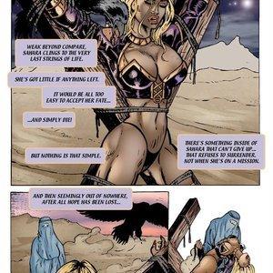 9 Superheroines Comics Sahara vs The Taliban - Issue 2 gallery image-003