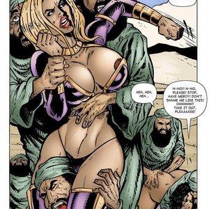 9 Superheroines Comics Sahara vs The Taliban - Issue 2 gallery image-008