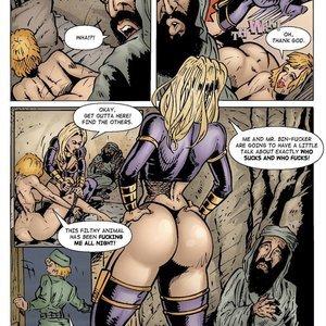 9 Superheroines Comics Sahara vs The Taliban - Issue 2 gallery image-012