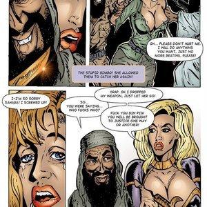 9 Superheroines Comics Sahara vs The Taliban - Issue 2 gallery image-014