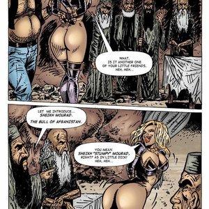9 Superheroines Comics Sahara vs The Taliban - Issue 2 gallery image-024