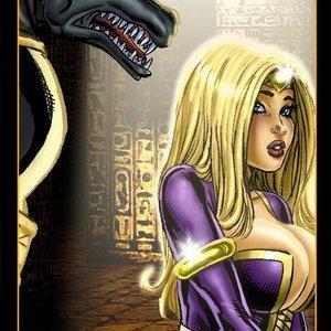 9 Superheroines Comics The Initiation gallery image-005