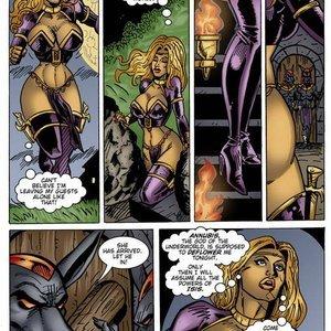 9 Superheroines Comics The Initiation gallery image-011