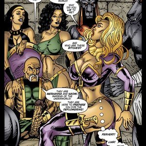 9 Superheroines Comics The Initiation gallery image-016