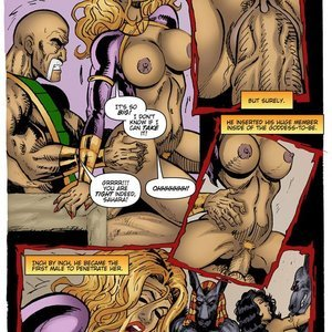 9 Superheroines Comics The Initiation gallery image-019