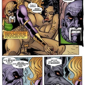 9 Superheroines Comics The Initiation gallery image-020