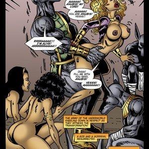 9 Superheroines Comics The Initiation gallery image-021