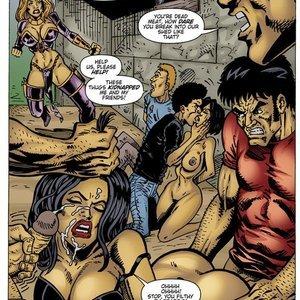 9 Superheroines Comics The Initiation gallery image-028