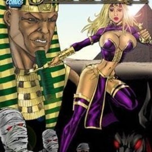 The Mummy 9 Superheroines Comics