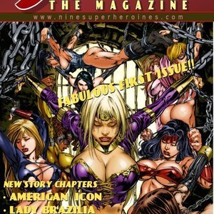 The Magazine 1 9 Superheroines Comics