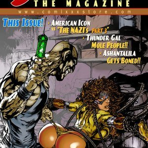 The Magazine 10 9 Superheroines Comics