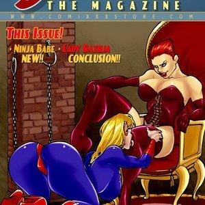The Magazine 3 9 Superheroines Comics