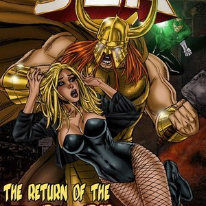 The Return of the Warlord 9 Superheroines Comics