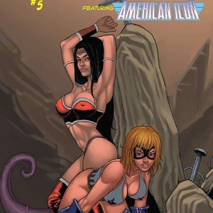 The Sub Terrans – Issue 3 9 Superheroines Comics