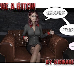 Abimboleb Comics You are a Bitch - Issue 1-5 gallery image-001