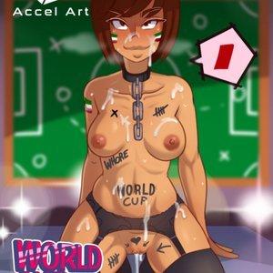Accel Art Comics World Cup Girls gallery image-002