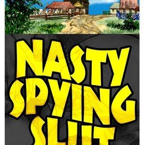 Nasty Spying Slut AdultComicsClub Collection