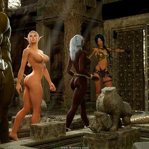 Affect3D Comics The Chronicles Of Dunragon - Issue 3 gallery image-099
