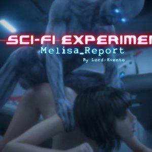 Sci-Fi Experiment Melisa Report Affect3D Comics