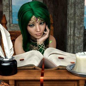 Alchemists Apprentice 2 Affect3D Comics