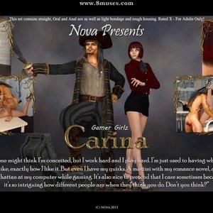 Gamer Girlz – Carina Affect3D Comics