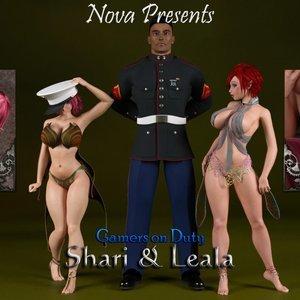Gamers on Duty – Shari & Leala Affect3D Comics