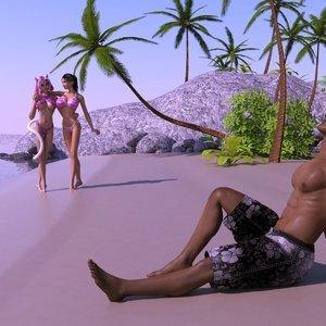 Felinas Sex on the Beach – Vol. 1 Affect3D Comics