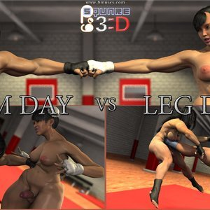 Arm Day vs Leg Day Affect3D Comics